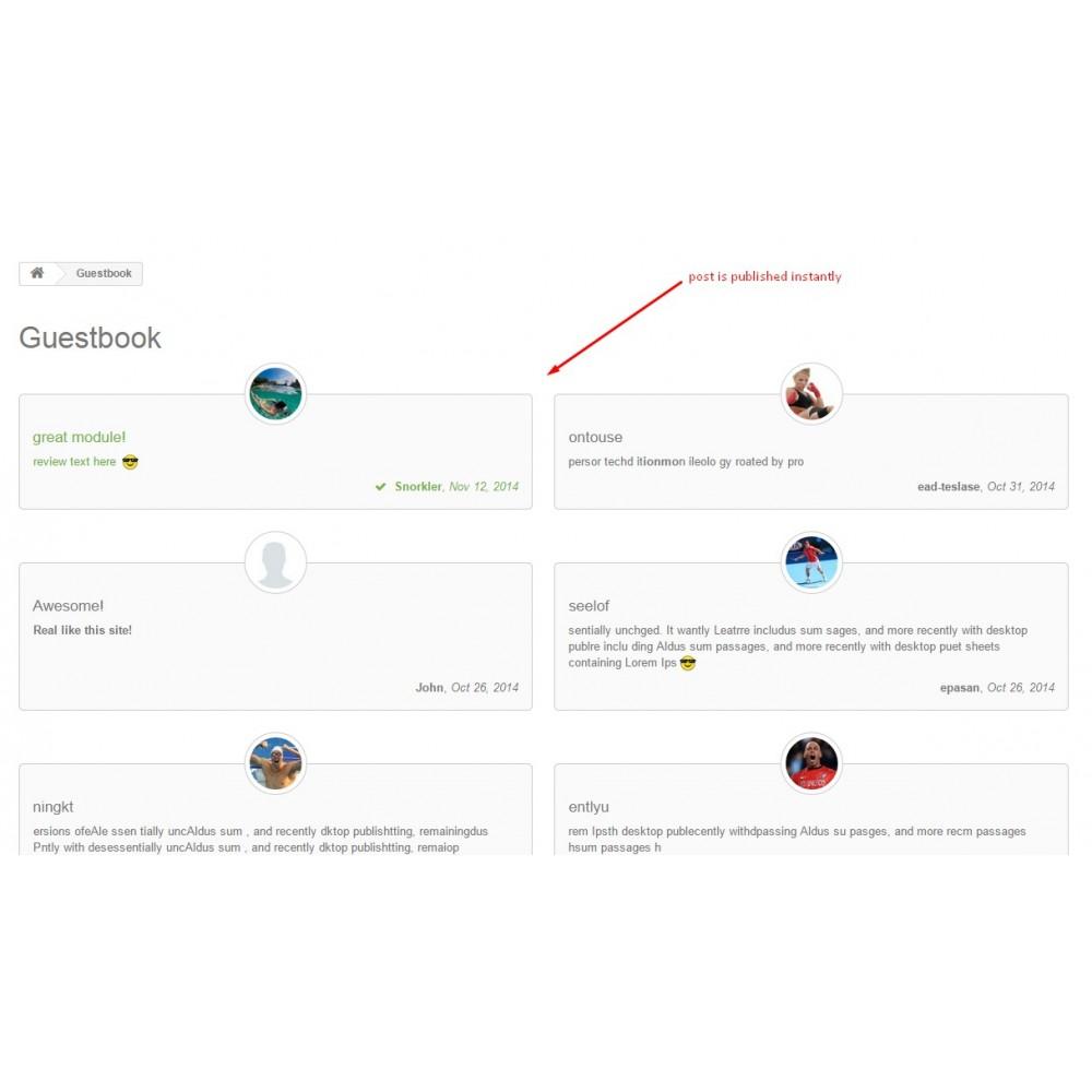module - Opiniões de clientes - Testimonials with avatars - 11