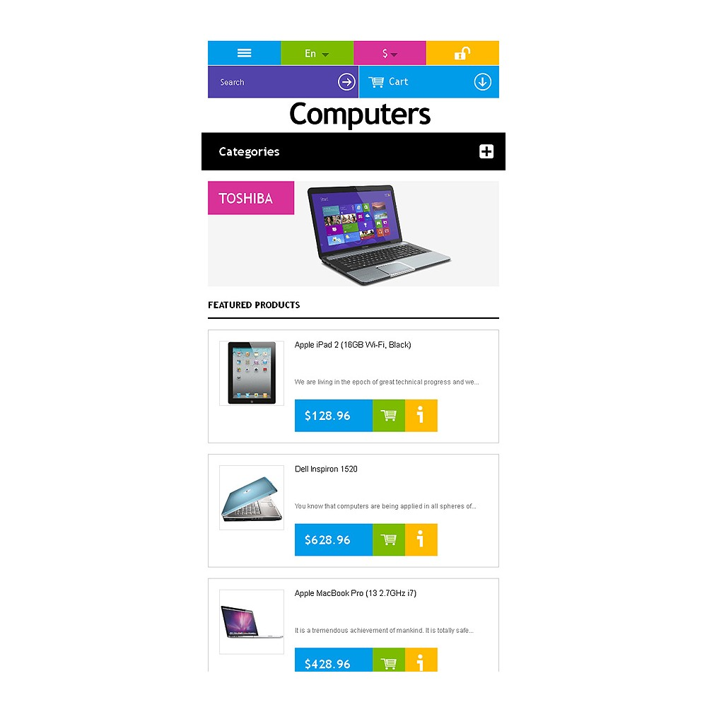 theme - Elektronik & High Tech - Responsive Computers Store - 4