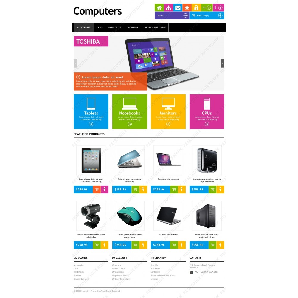 theme - Elektronik & High Tech - Responsive Computers Store - 10