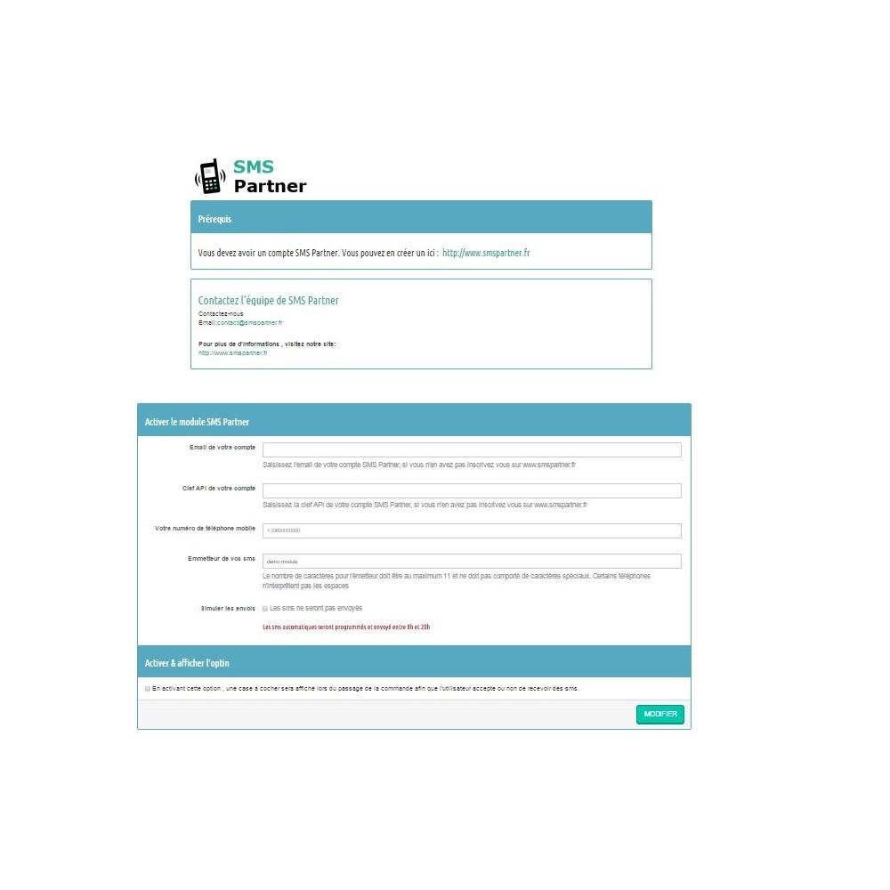 module - Newsletter & SMS - Suivi de commande SMS - 1