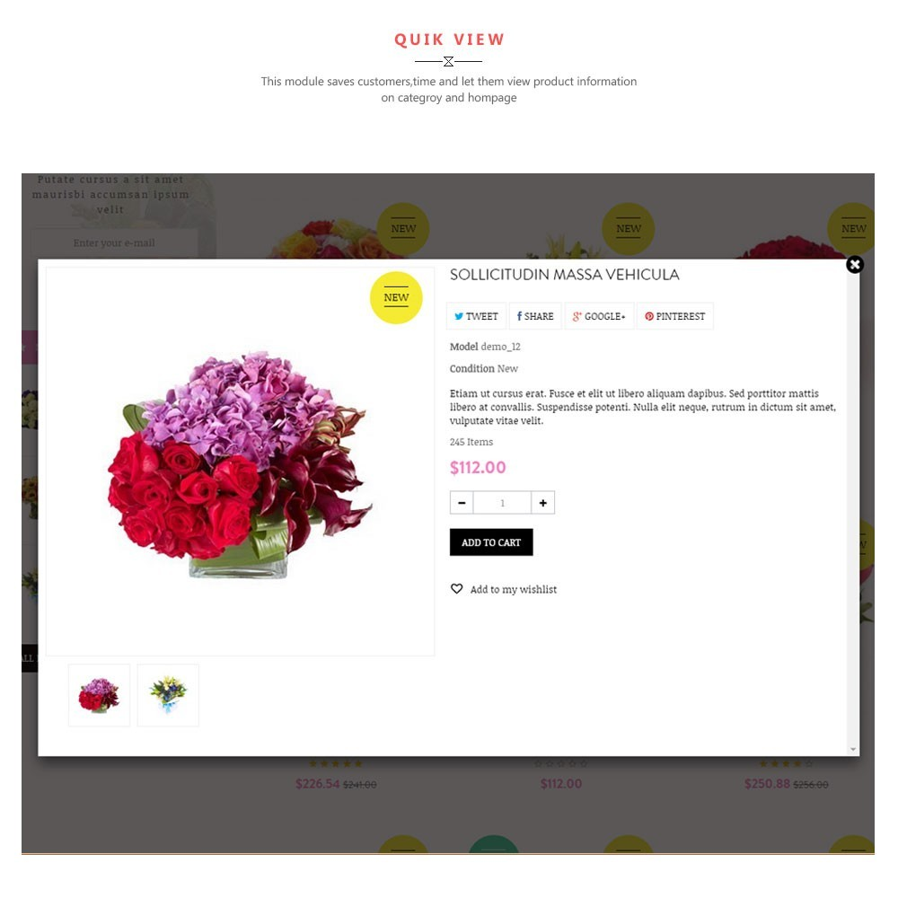 theme - Gifts, Flowers & Celebrations - Leo Flower Shop - 4