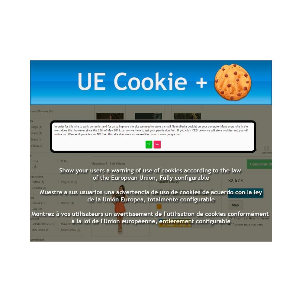 module - Marco Legal (Ley Europea) - UE Cookie + Ley europea de cookies - 1