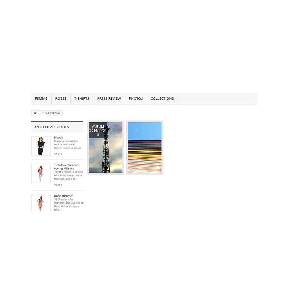 module - Sliders & Galeries - Albums photos - 4