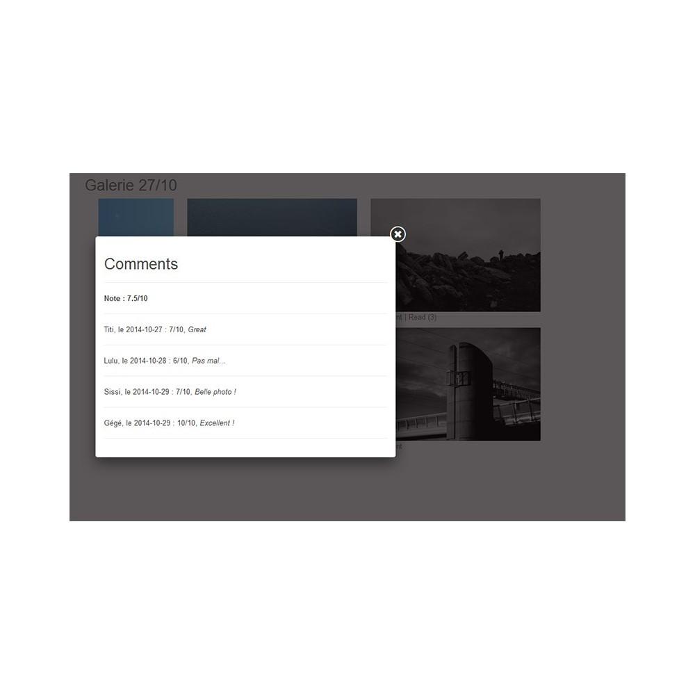module - Sliders & Galerias - Pictures albums - 6