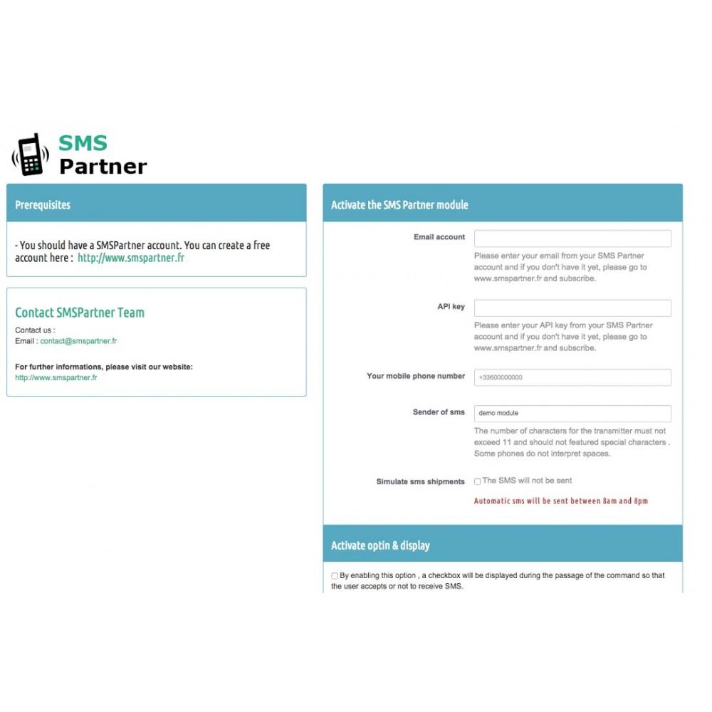 module - Newsletter & SMS - SMS Order Status - 2