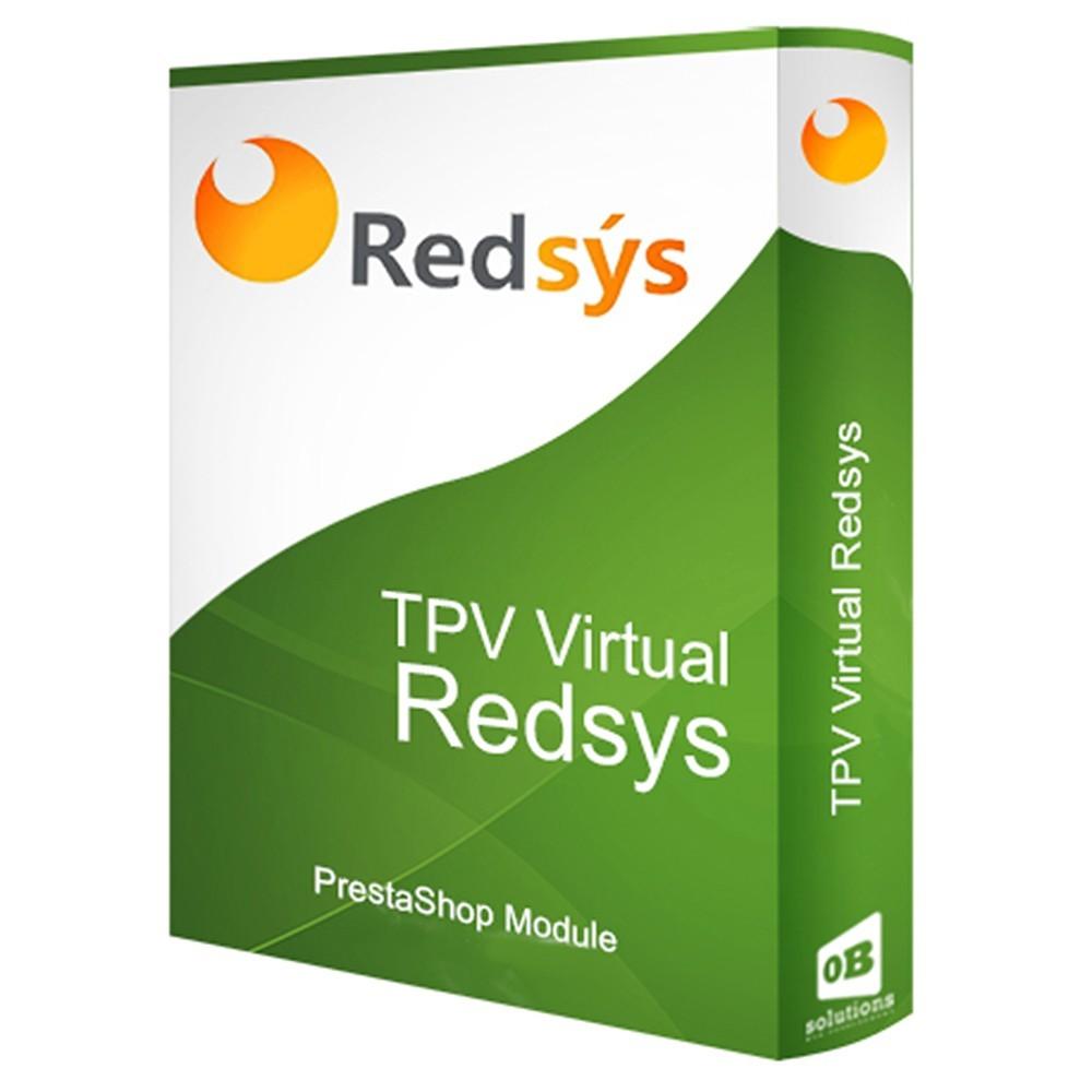 module - Pago con Tarjeta o Carteras digitales - REDSYS TPV COMPLETO (Pago seguro + Devoluciones) - 1