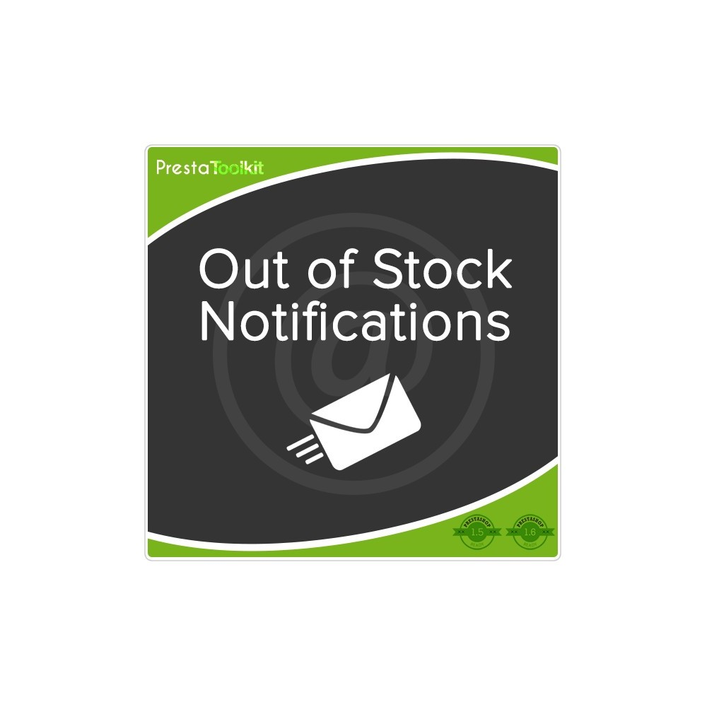 module - E-maile & Powiadomienia - Out of Stock Notification - 1