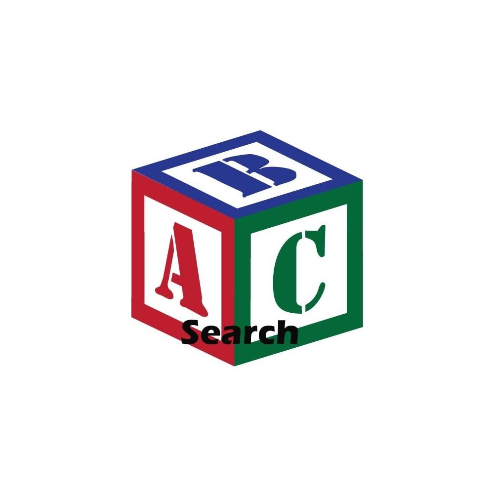 module - Búsquedas y Filtros - ABC Búsqueda de productos - 1