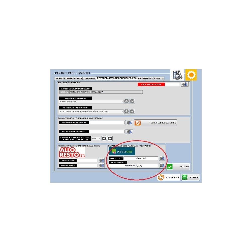 module - Logiciel de caisse (POS) - iziCaisse Sync - 2