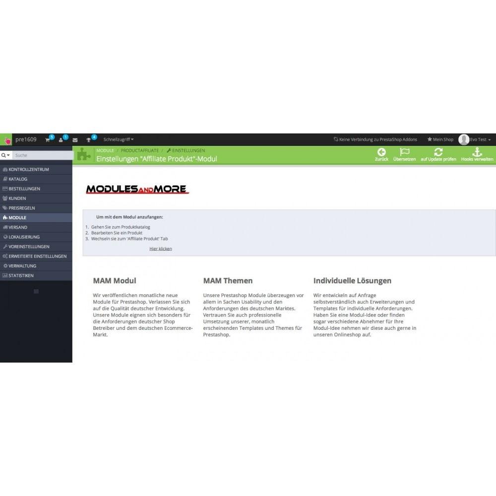 module - SEA SEM (Bezahlte Werbung) & Affiliate Plattformen - Affiliate Produkt - 3