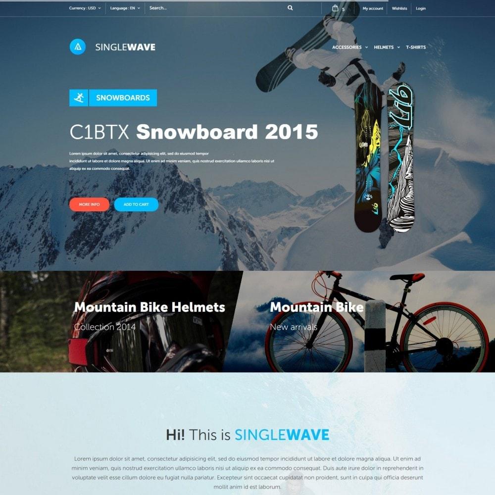 Singlewave - Sport Geschäft