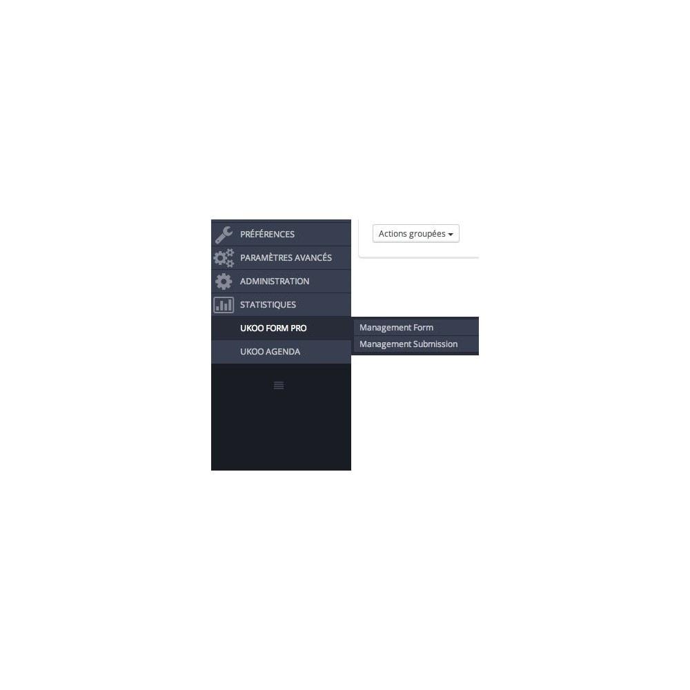 module - Formulaires de Contact & Sondages - Création de multiples formulaires personnalisés - 1