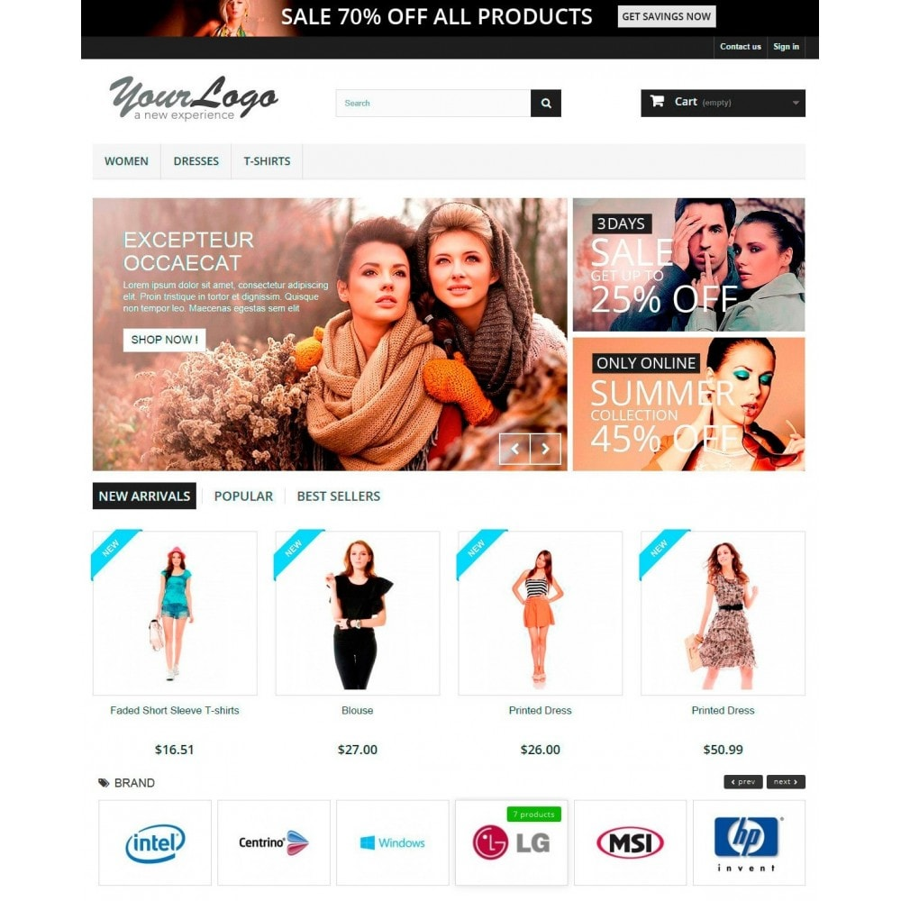 module - Marques & Fabricants - Responsive Brand Logos Carousel - 2