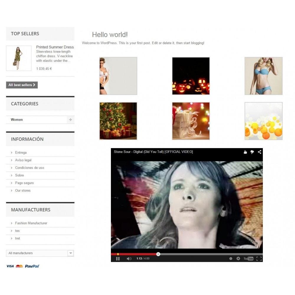 module - Blog, Foro y Noticias - Wpress - Wordpress in Prestashop - 13