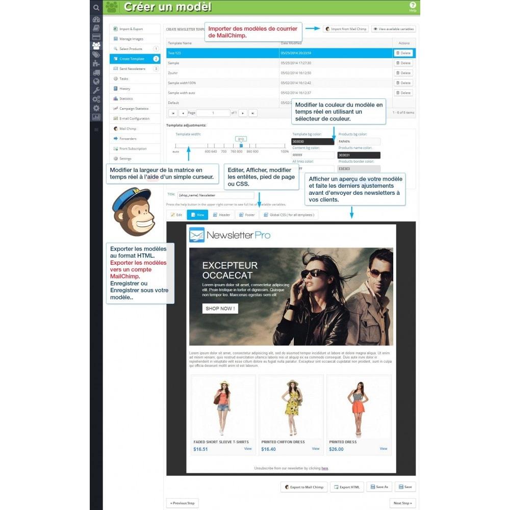 module - Newsletter & SMS - Newsletter Pro - 6