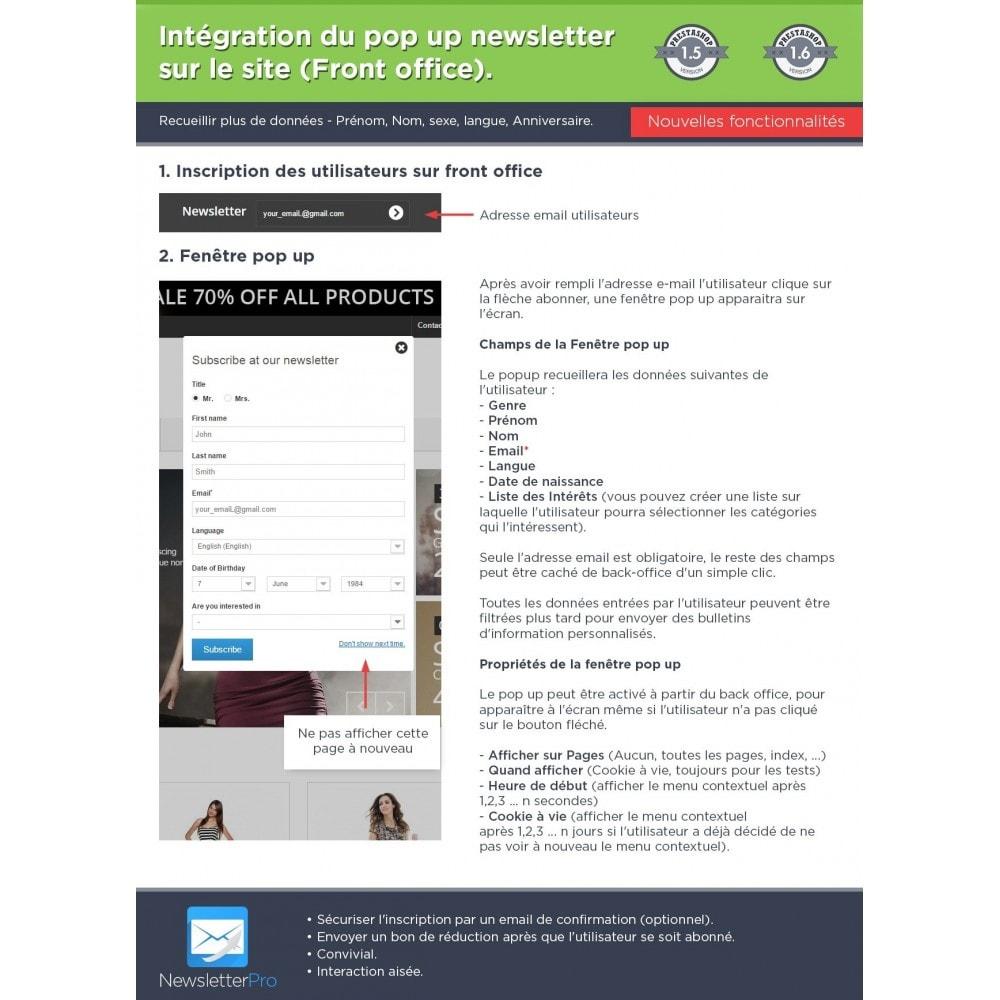 module - Newsletter & SMS - Newsletter Pro - 8