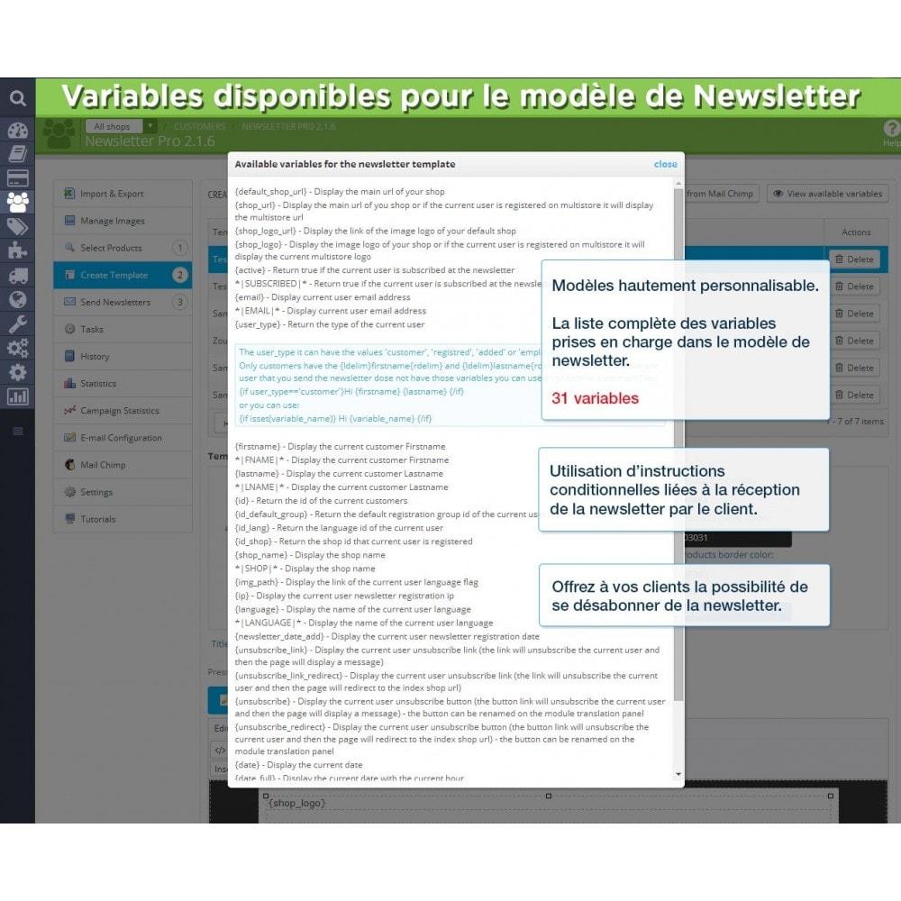 module - Newsletter & SMS - Newsletter Pro - 19