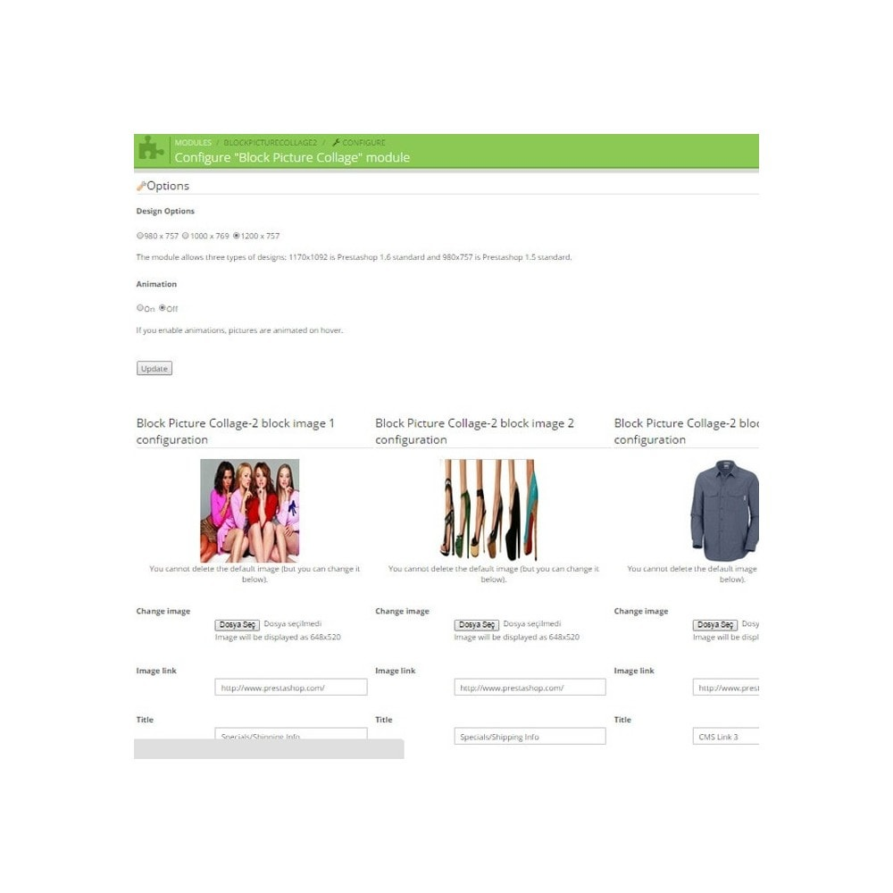 module - Page Customization - Responsive Homepage Layout 2 - 3