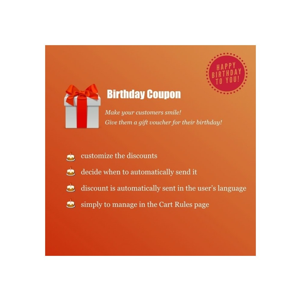 module - Loyaliteitsprogramma - Birthday Coupon - 1