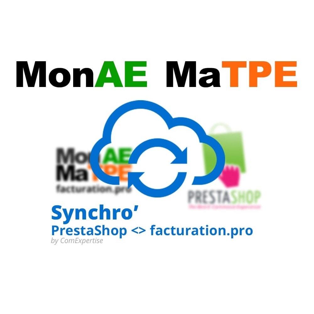 module - Connexion à un logiciel tiers (CRM, ERP...) - facturation.pro (Mon AE, Ma TPE) - 1