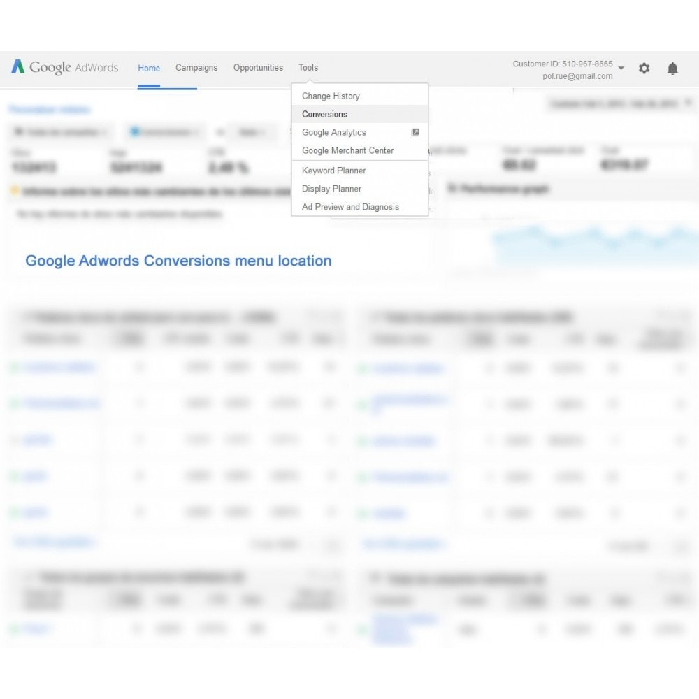 module - Remarketing & Carrelli abbandonati - Modulo conversioni per Google Adwords - Smart Module - 2