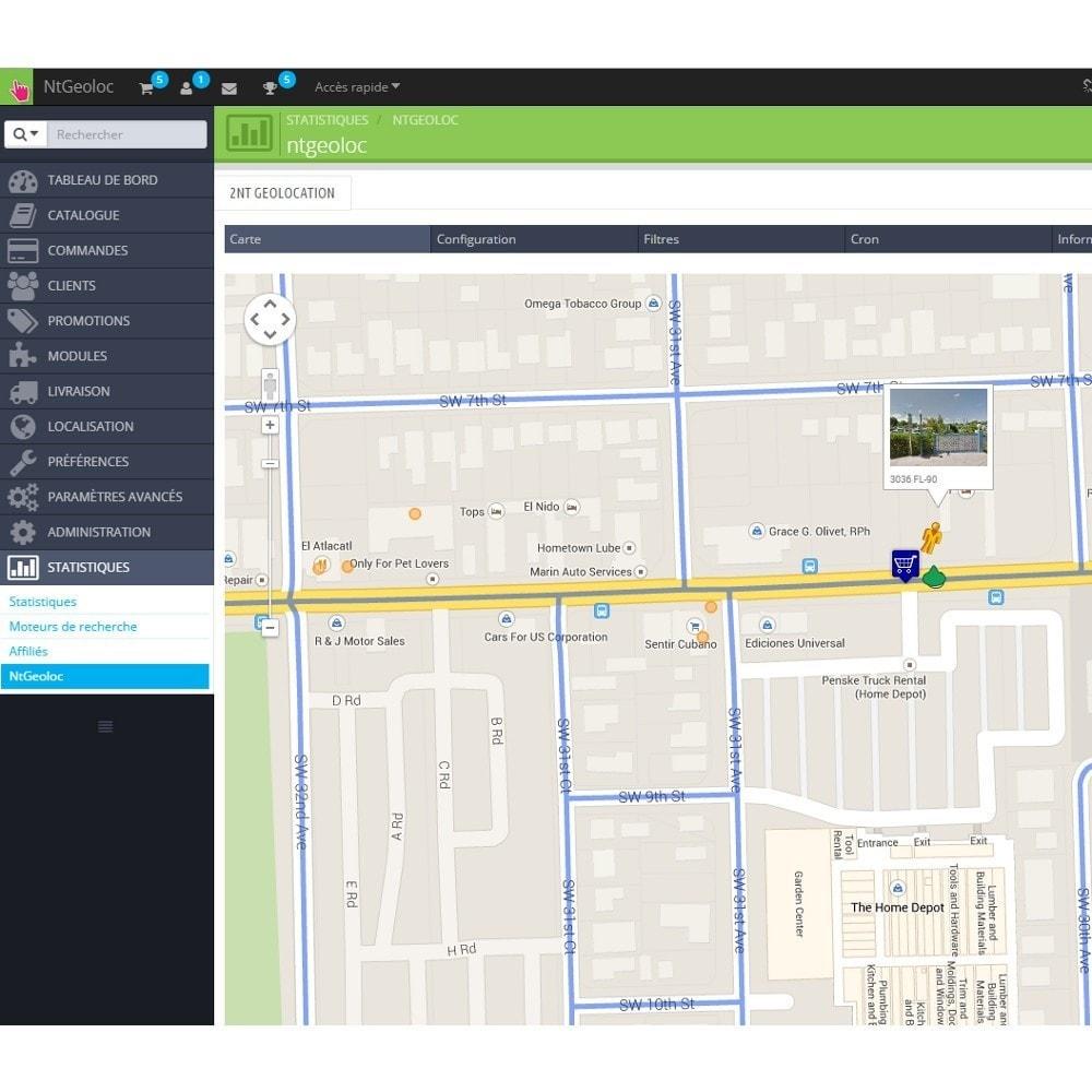 module - International & Localisation - NT Geoloc, géolocalisez précisément vos clients - 7