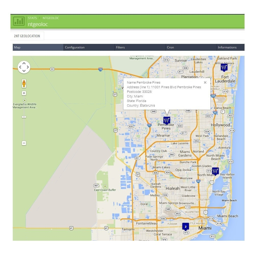 module - International & Localization - NT Geoloc, precisely locate your customers and stores - 2