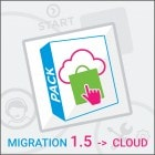 Pack Migration PrestaShop 1.5 to PrestaShop Cloud