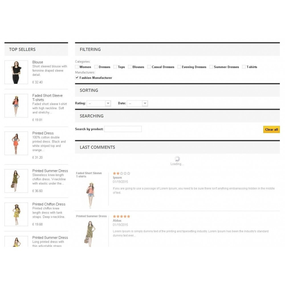 module - Отзывы клиентов - Модуль списка комментариев товаров c функциями фильтров - 3