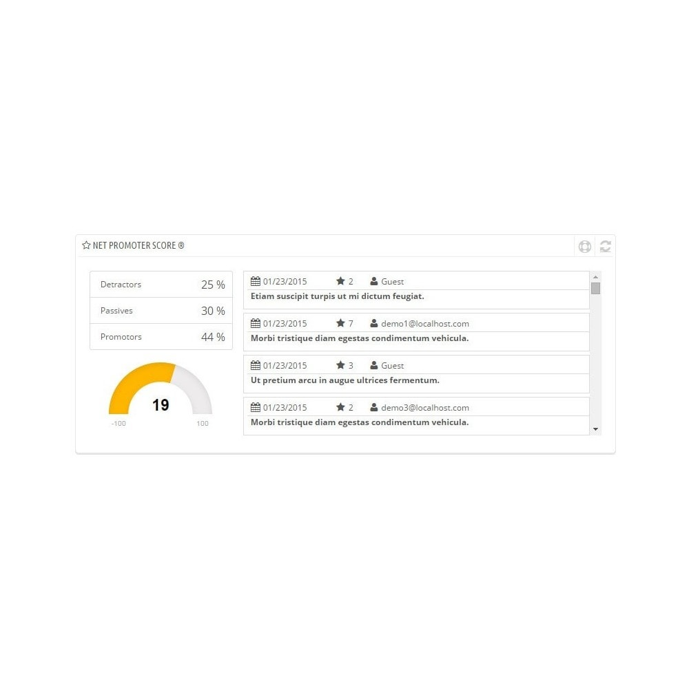 module - Форма обратной связи и Опросы - Promoter Shopper - 2