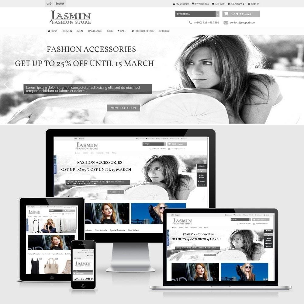 theme - Moda & Calzature - Jasmin Responsive 1.6 - 1