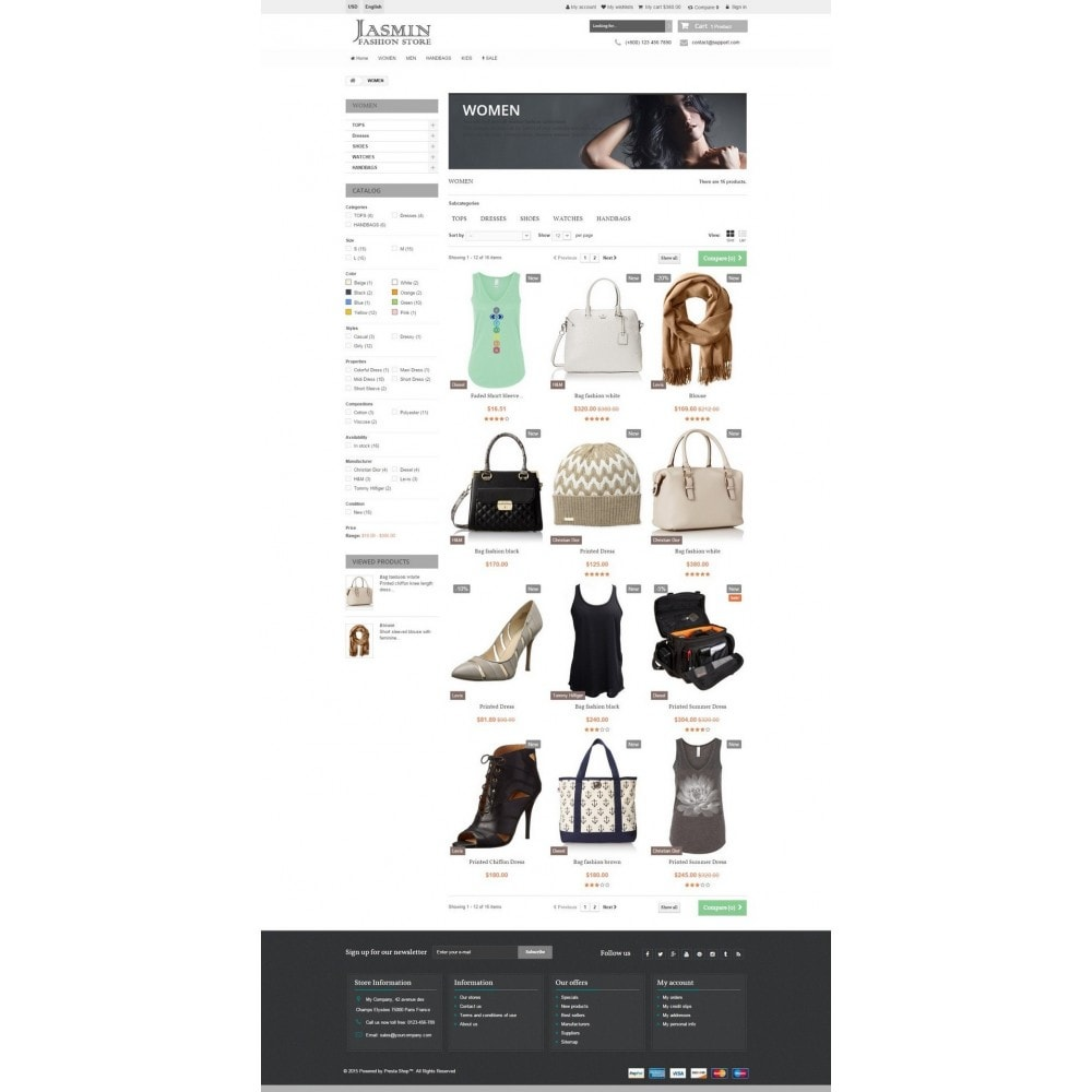 theme - Mode & Schuhe - Jasmin Responsive 1.6 - 5
