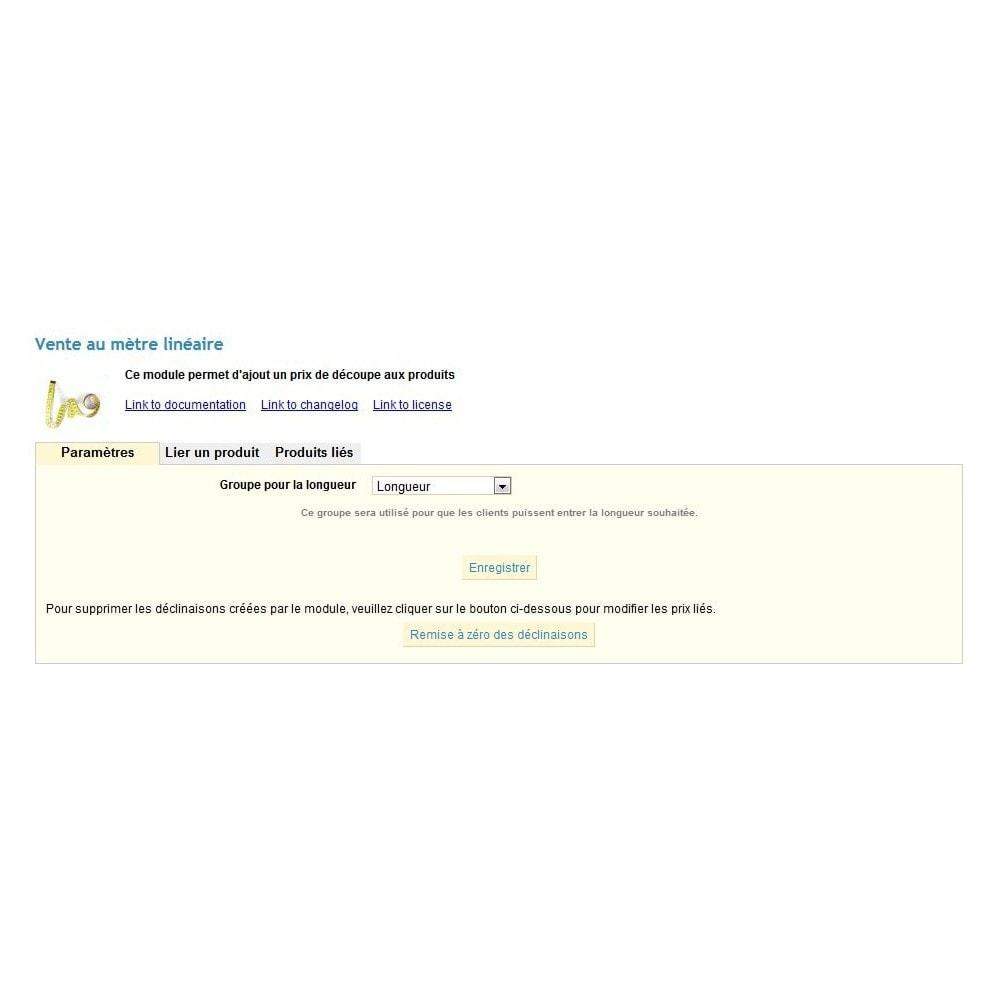 module - Tailles & Dimensions - Vente de produit au mètre linéaire, au kilo ou au litre - 4
