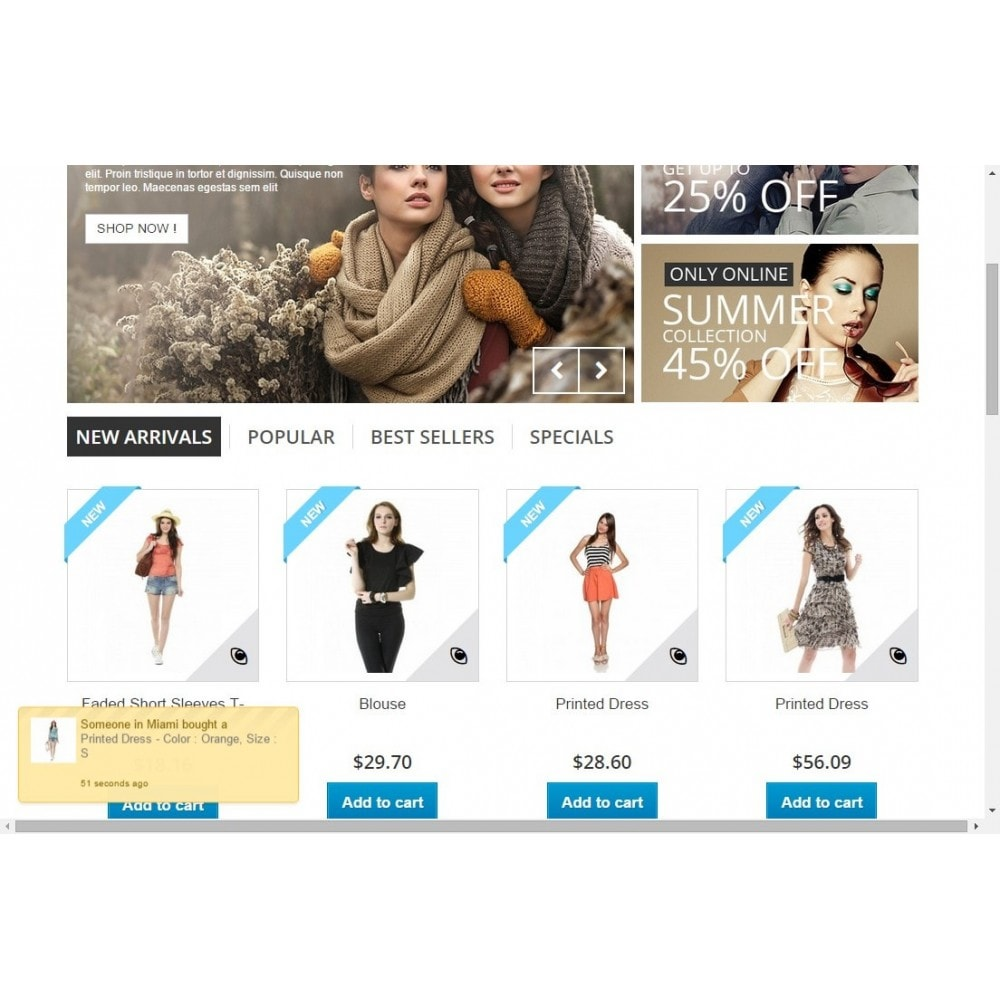 module - Cross-selling & Product Bundles - Product Sold Popup - 1