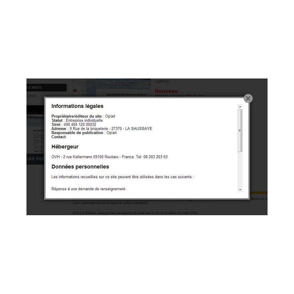 module - Всплывающие окна - Ajax popup - 3