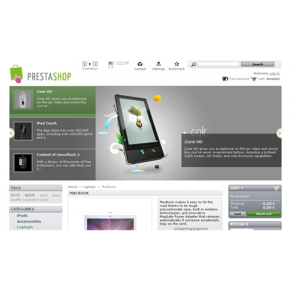 module - Silder & Gallerien - Slideshow 7 in 1 / Mobile / Responsive / Animated - 37