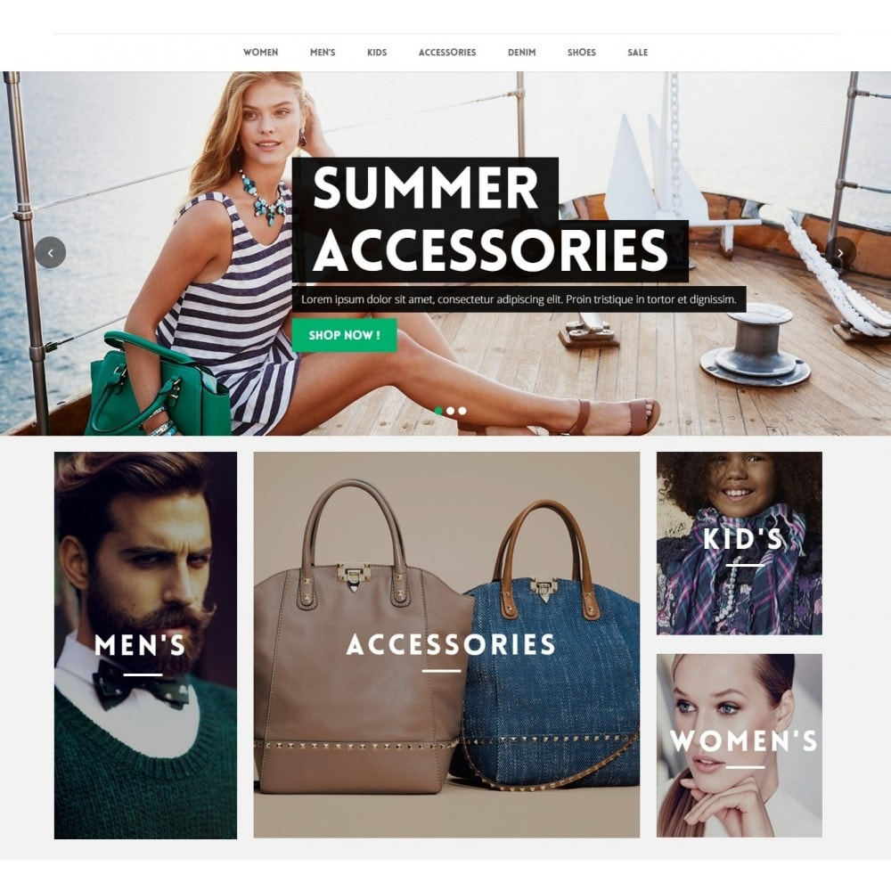 Runway Fashion Responsive Prestashop 1.6
