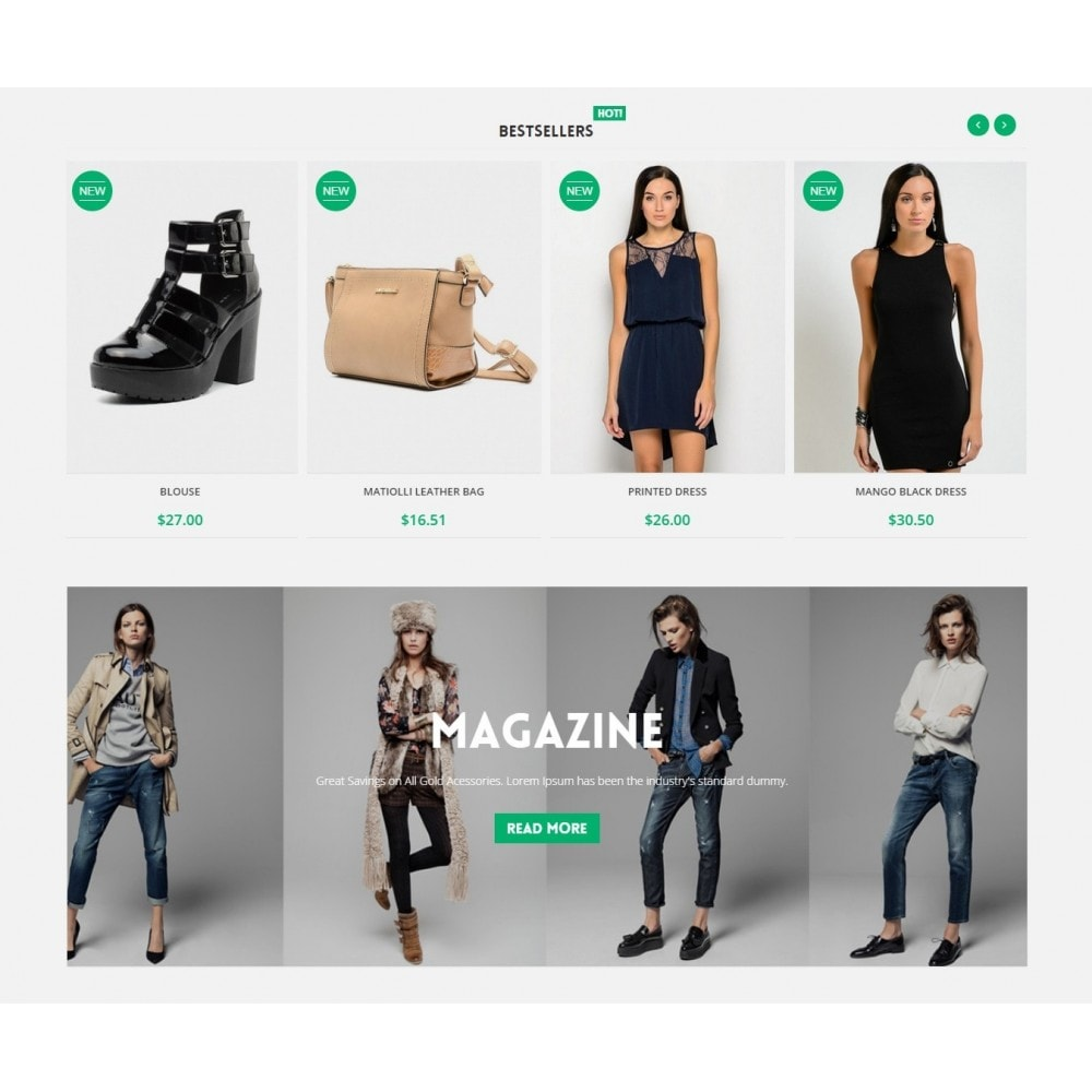 theme - Mode & Schoenen - Runway Fashion Responsive Prestashop 1.6 - 4
