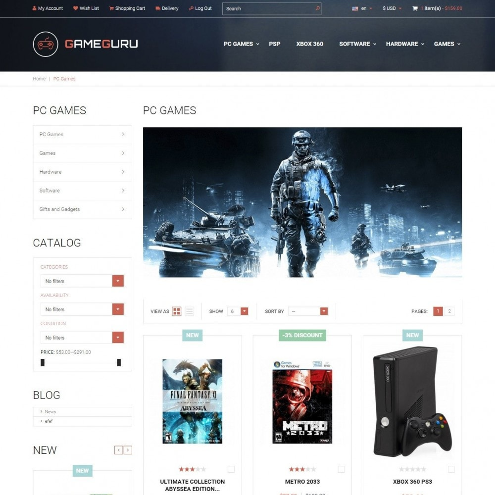 Gameguru - Play Games Store