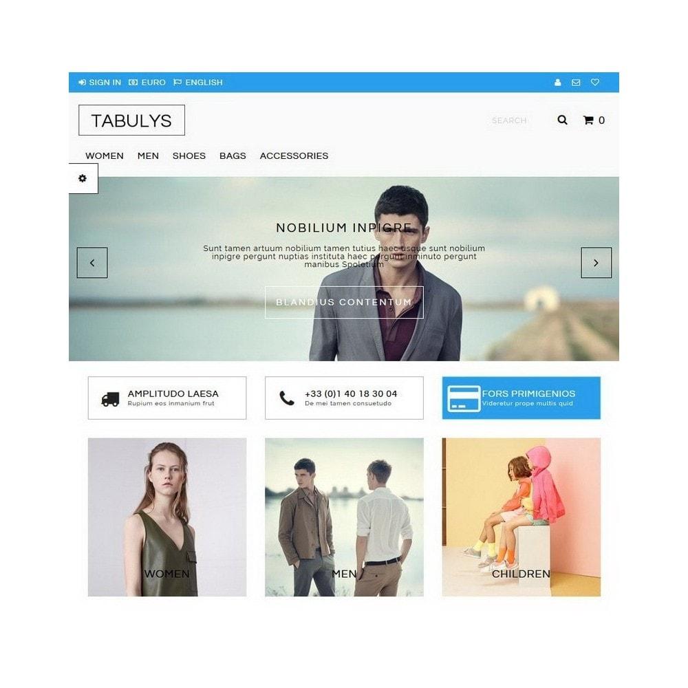 theme - Fashion & Shoes - Tabulys - 2
