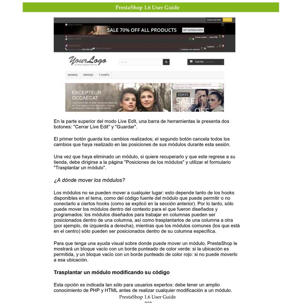 other - Guía del usuario - Guía del usuario PrestaShop 1.6 - 2