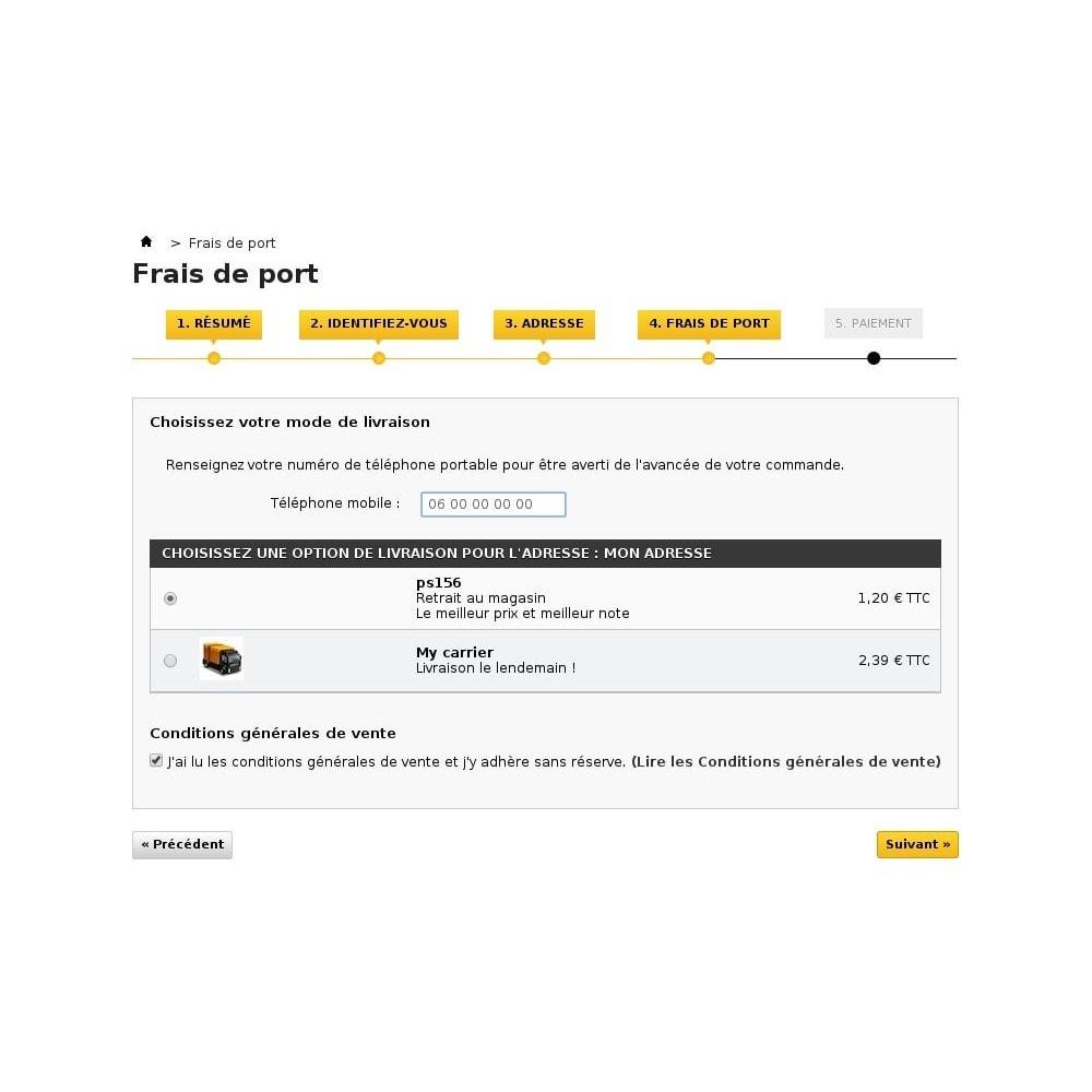 module - E-mails & Notifications - Suivi de commande par SMS - 4