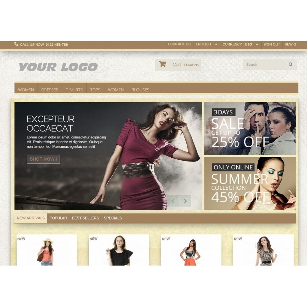 Super Neutral - Prestashop Responsive 2