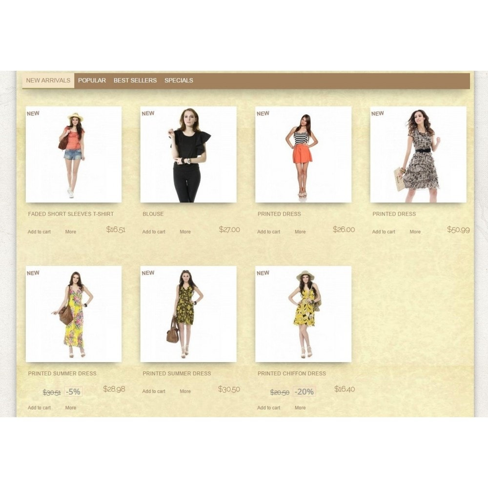 theme - Mode & Schuhe - Super Neutral - Prestashop Responsive 2 - 3