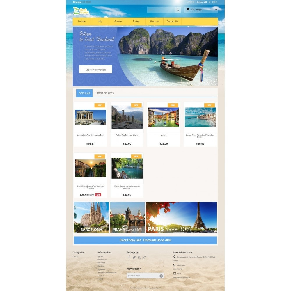 Best Travel 1.6 Responsive