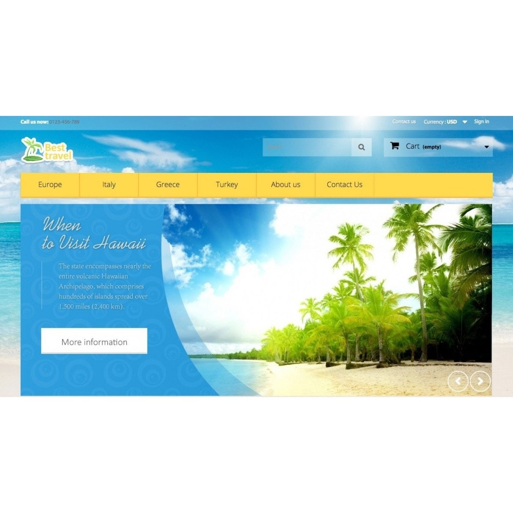 theme - Sports, Activities & Travel - Best Travel 1.6 Responsive - 3