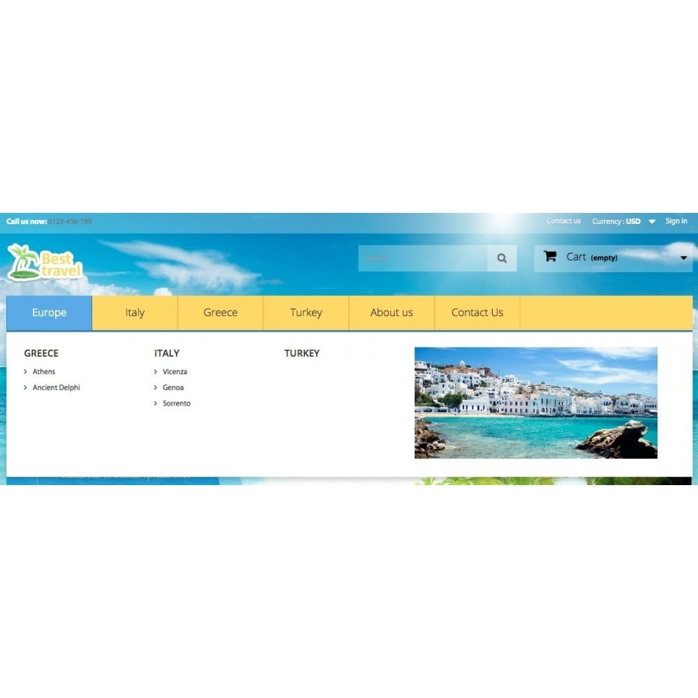 theme - Sports, Activities & Travel - Best Travel 1.6 Responsive - 5