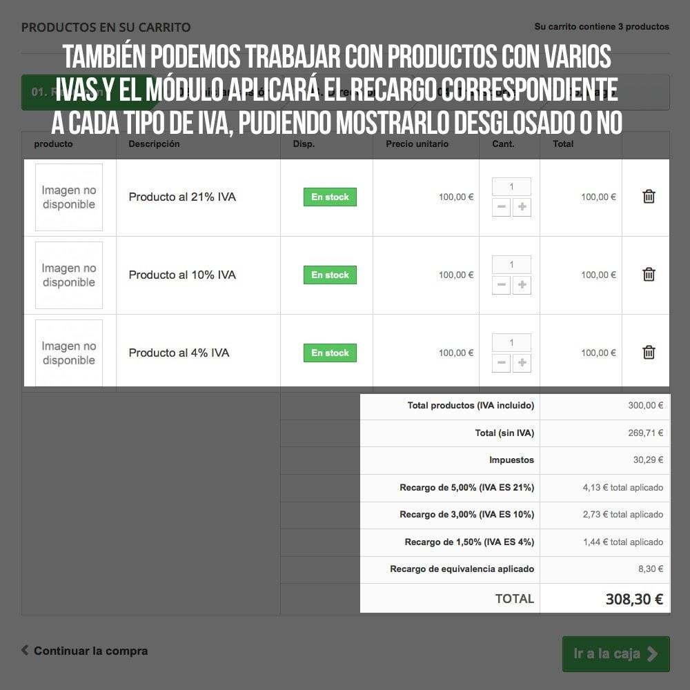 module - B2B - Aplicar Recargo de equivalencia a pedidos y facturas - 16