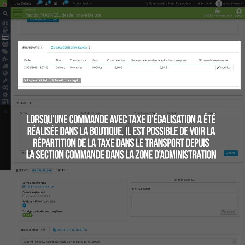 module - B2B - Appliquer Taxe d'égalisation aux commandes et factures - 21