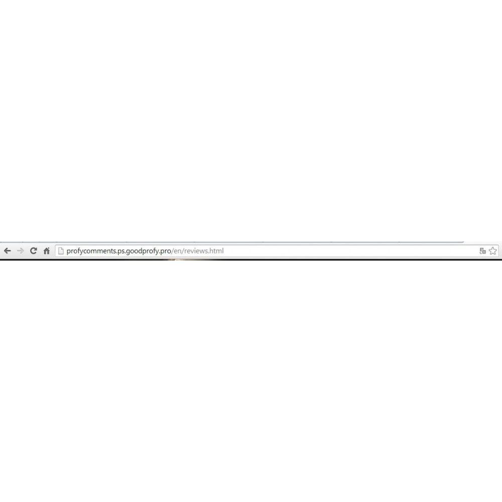 module - Отзывы клиентов - Отзывы, комментарии о магазине и товарах. - 8